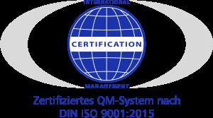 Zertifiziertes QM-System